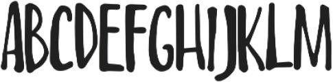 Always Happy otf (400) Font UPPERCASE