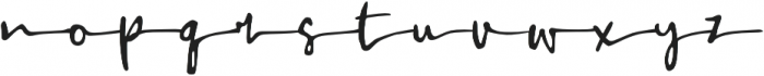 Always Happy otf (400) Font LOWERCASE