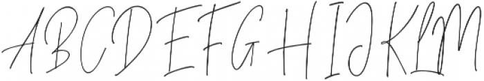 Always Love otf (400) Font UPPERCASE