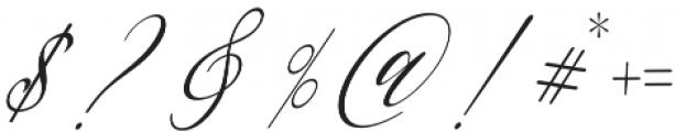 Always home Regular otf (400) Font OTHER CHARS