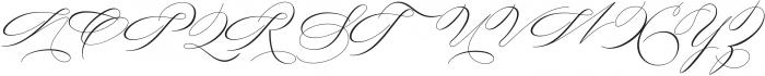 Always home Regular otf (400) Font UPPERCASE