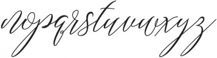 Always home Regular otf (400) Font LOWERCASE