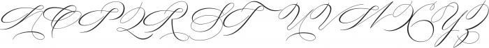Always home Regular ttf (400) Font UPPERCASE