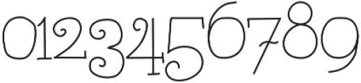 AlwaysHere ttf (400) Font OTHER CHARS