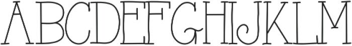 AlwaysHere ttf (400) Font LOWERCASE