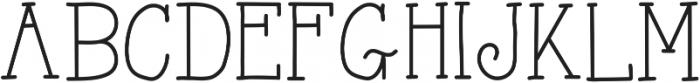 AlwaysHereToo ttf (400) Font UPPERCASE