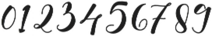 Alyanda otf (400) Font OTHER CHARS