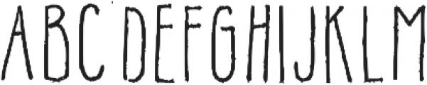 Alyssa Tall Regular otf (400) Font UPPERCASE