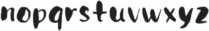 allegro otf (400) Font LOWERCASE