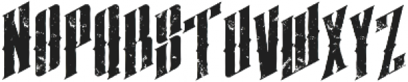 almanac italic grunge otf (400) Font LOWERCASE