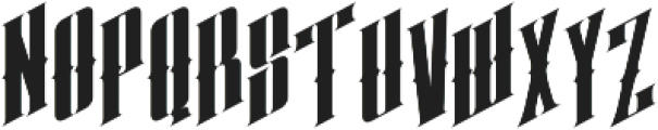 almanac italic otf (400) Font LOWERCASE