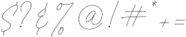 aloha script font otf (400) Font OTHER CHARS