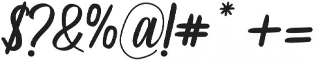 aluna otf (400) Font OTHER CHARS
