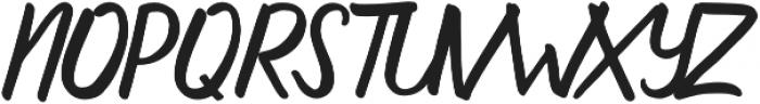 aluna otf (400) Font UPPERCASE