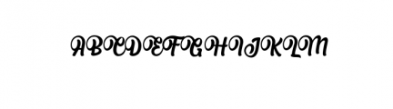Albertiny Font UPPERCASE