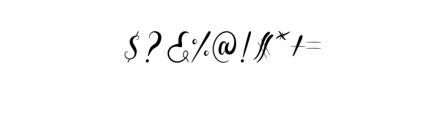 Aldira.otf Font OTHER CHARS