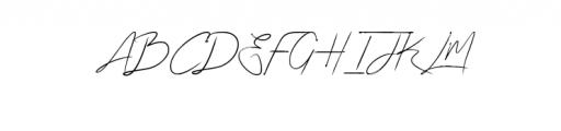 Algorithm.otf Font UPPERCASE