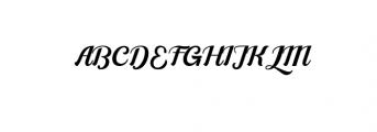 Alleyster Font UPPERCASE