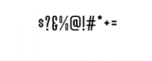 Alvaro-Condensed.otf Font OTHER CHARS