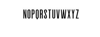 Alvaro-Condensed.otf Font UPPERCASE