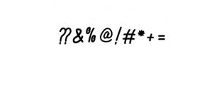 Alvaro.ttf Font OTHER CHARS
