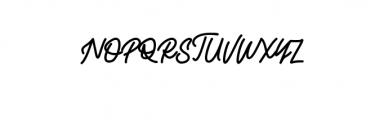 Alvaro.ttf Font UPPERCASE