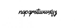Alvaro.ttf Font LOWERCASE