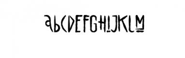 alienfrogs.otf Font LOWERCASE