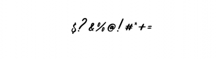alisha.otf Font OTHER CHARS