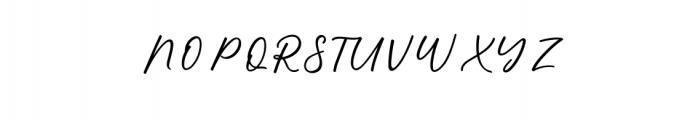 alisha.otf Font UPPERCASE