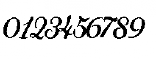 Alfons Brush Bold Font OTHER CHARS