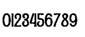 Alfons Condensed Bold Font OTHER CHARS