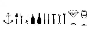 Alfons Extras Regular Font LOWERCASE