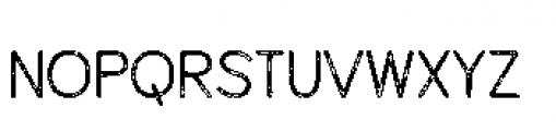 Alfons Sans Printed Font LOWERCASE