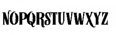 Alfons Serif Bold 2 Font UPPERCASE
