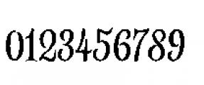 Alfons Serif Regular Font OTHER CHARS