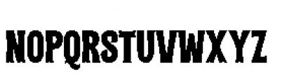 Alfons Tiki Regular Font UPPERCASE