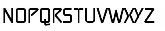 Alpha Delta Bold Font UPPERCASE