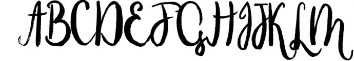 Alice Morning script Font UPPERCASE