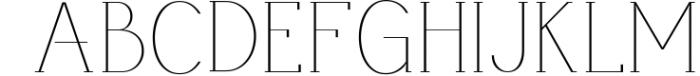 AlisaSerif Typeface 1 Font UPPERCASE