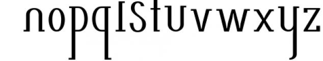 AlisaSerif Typeface 3 Font LOWERCASE
