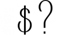 AlisaSerif Typeface Font OTHER CHARS