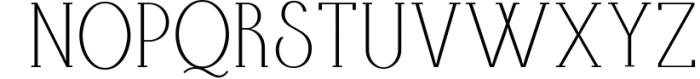 AlisaSerif Typeface Font UPPERCASE