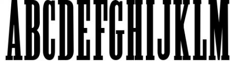 Alycidon Condensed Font UPPERCASE