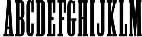 Alycidon Condensed Font LOWERCASE