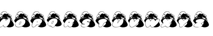 AL Fire Helmet Font UPPERCASE