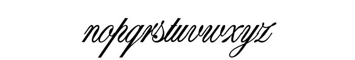 AL Princess Snow White Font LOWERCASE