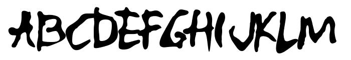 ALBUMME SMOOTH Font UPPERCASE