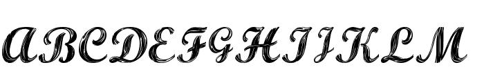 ALBURA Regular Font UPPERCASE