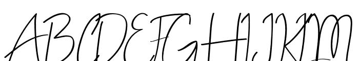ALDITH Script Font UPPERCASE